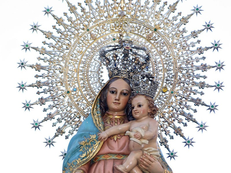 Virgen Del Pilar La Verdadera Historia Peru Catolico