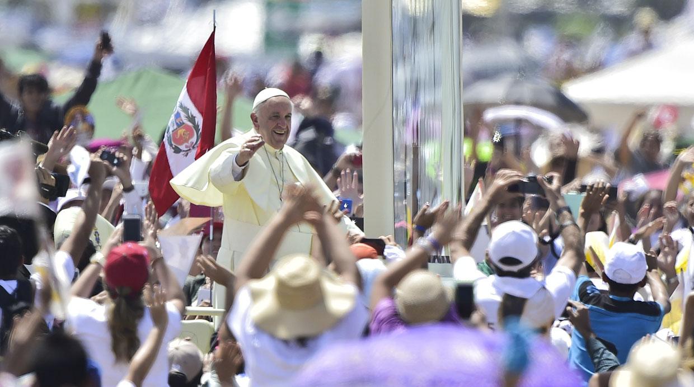 Resultado de imagen para papa francisco peru