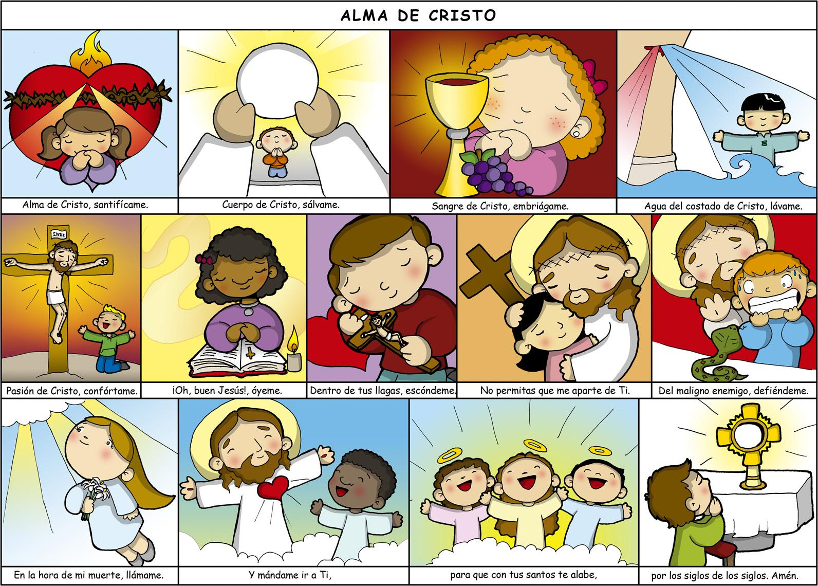 Matrimonio Catolico En Peligro De Muerte : Alma de cristo oración luego comulgar perú católico