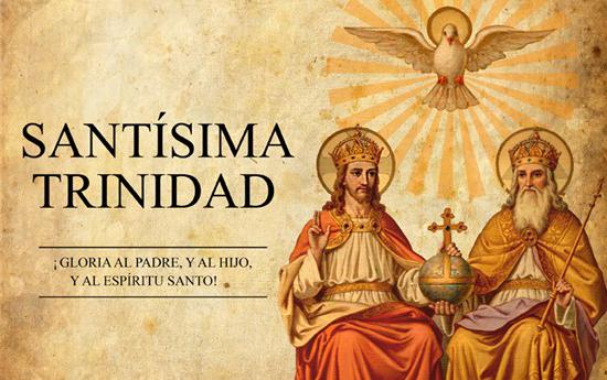 La Santísima Trinidad, fuente comunidad