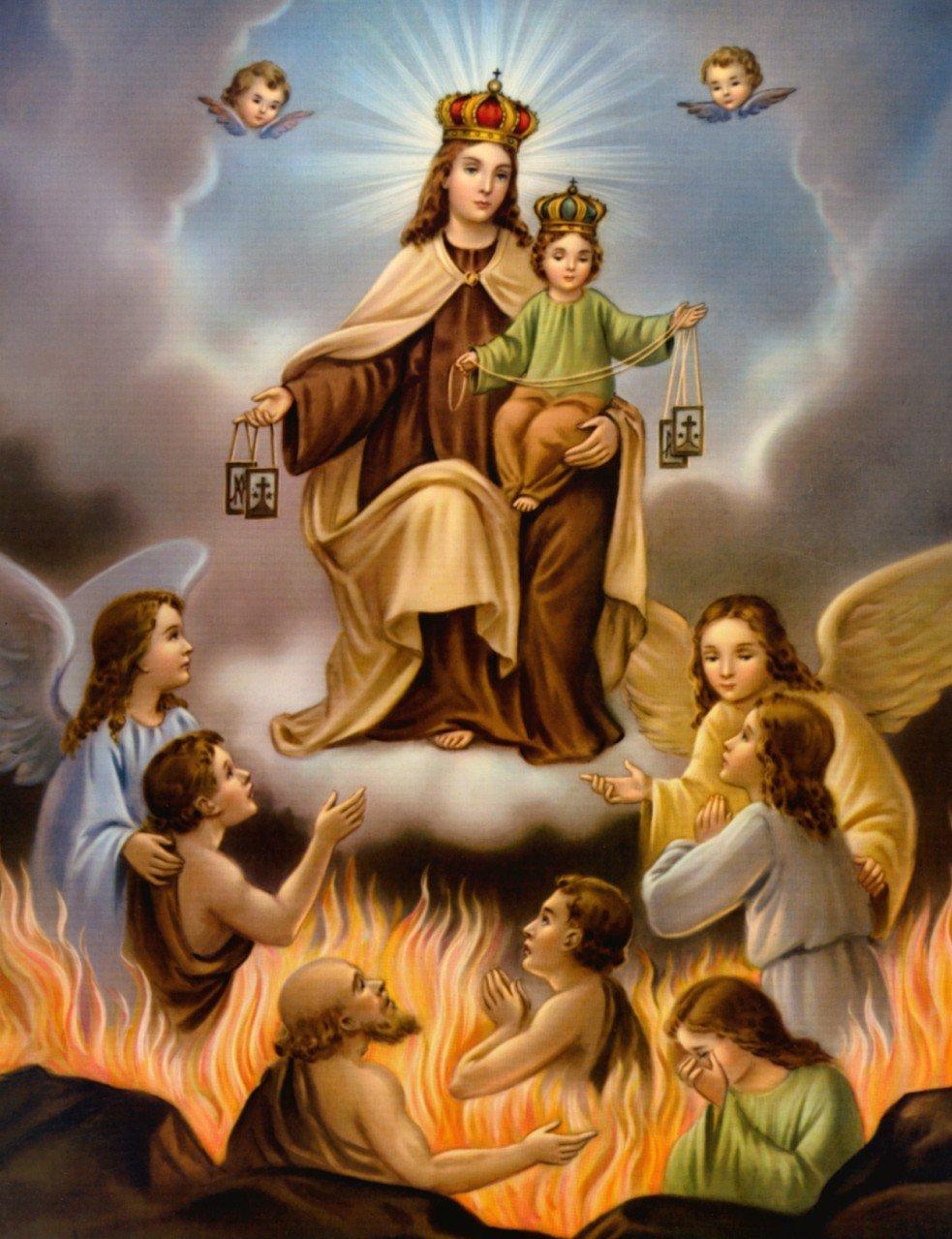 la verdadera historia de la virgen del carmen perú católico