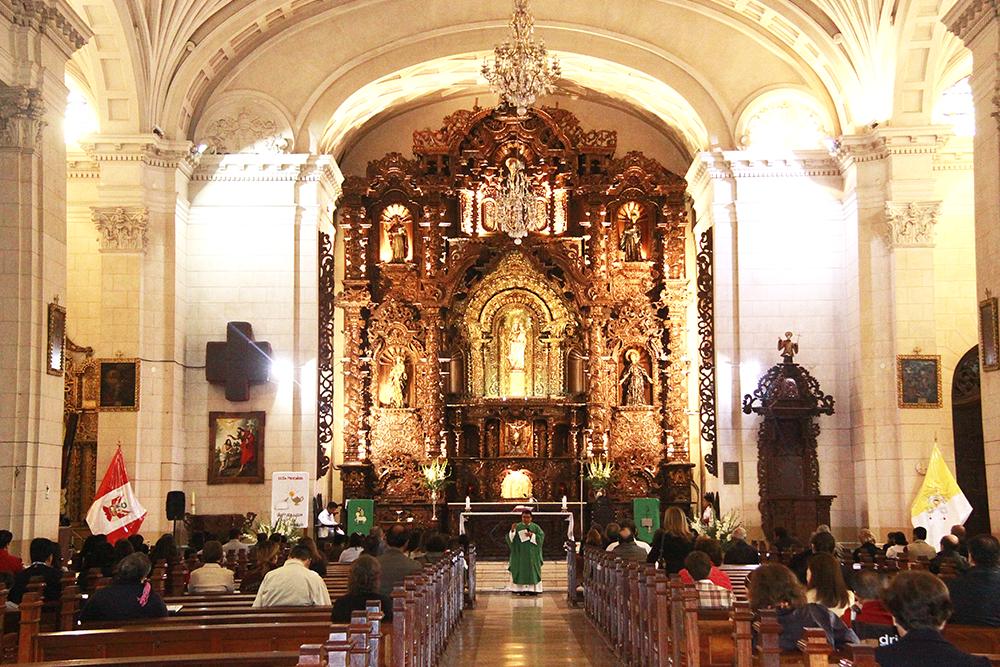 Matrimonio Catolico Peru : Parroquia virgen del pilar una hermosa en san