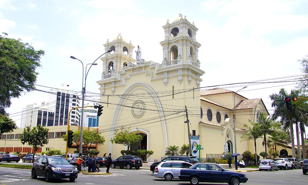 Matrimonio Catolico Peru : Bella parroquia nuestra señora de fátima en miraflores