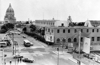 MAGDALENA DEL MAR, 7 DE FEBRERO DEL 1970 INTERSECCION DE LAS AVENIDAS INDEPENDENCIA Y SUCRE FOTO: EL COMERCIO