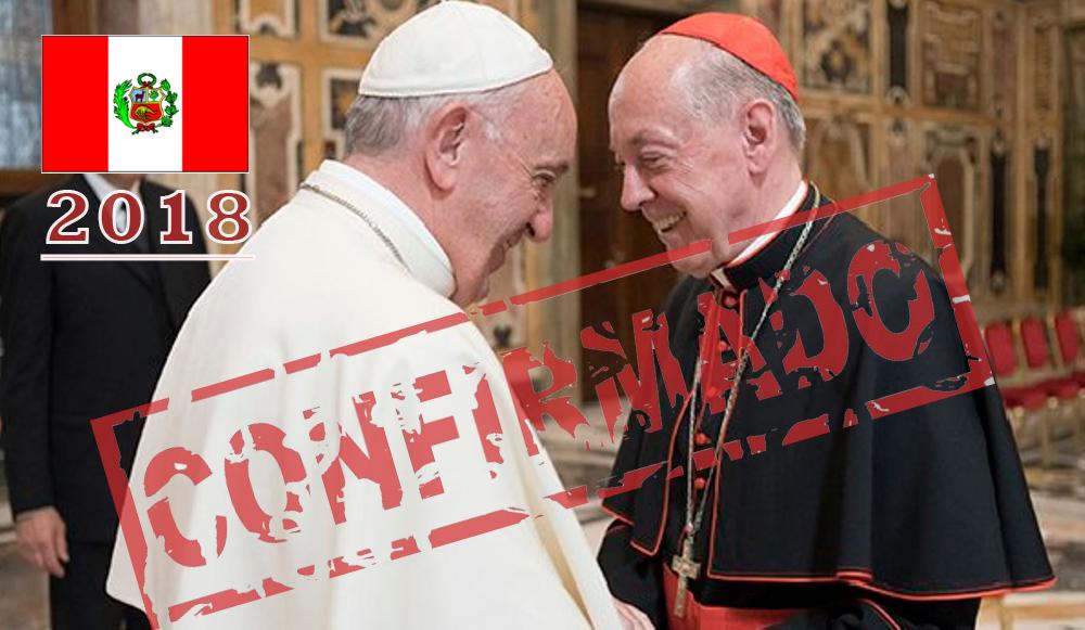 Papa Francisco Viene Al Peru En 2018