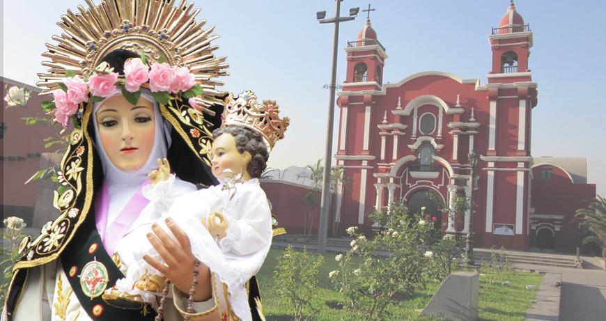 Iglesia de Santa Rosa de Lima (Cuadra 1 de la Av. Tacna) Fue construida en 1728 y dentro se encuentra el famoso 'pozo de los deseos', lugar donde los fieles depositan sus cartas para venerar a esta santa. (USI)