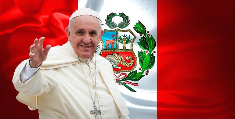 Resultado de imagen para papa francisco en peru