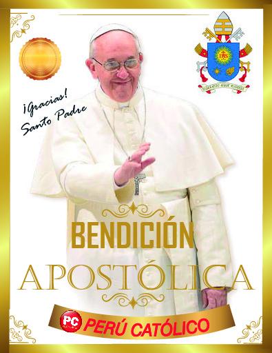 Bendición del Papa a Perú Católico