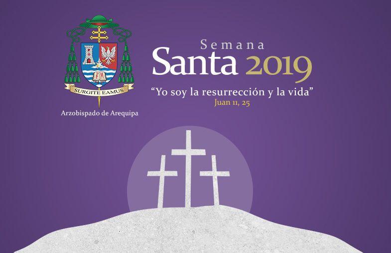 Calendario Perpetuo Semana Santa.Arequipa Horarios Y Actividades De Semana Santa
